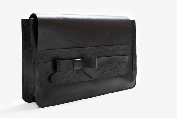 """""""Cannes"""" leather clutch"""