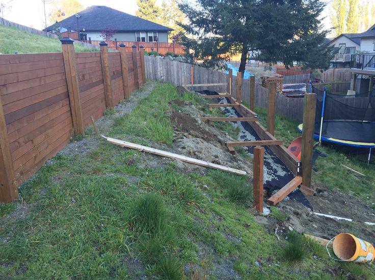 Deadman Anchors In Place Steep Gardens Garden Places