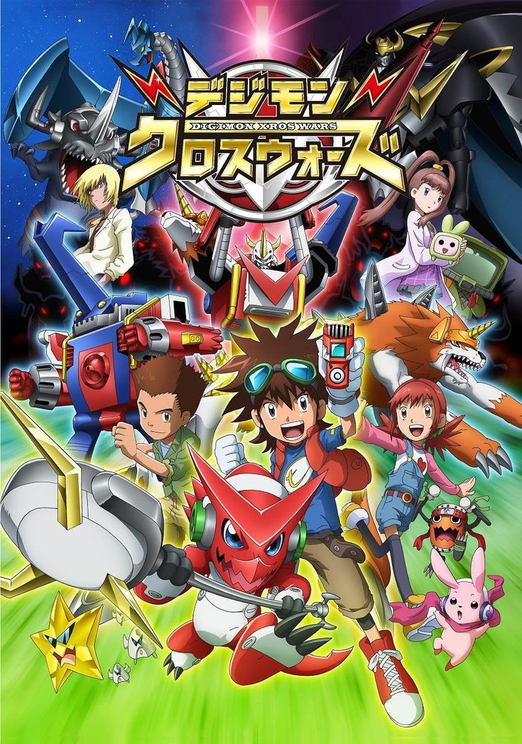 Digimon Xros Wars /// Genres Action, Adventure, Comedy