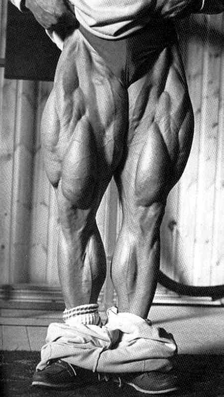 Tom Platz's Legs One of the most incredible achievements in human development.