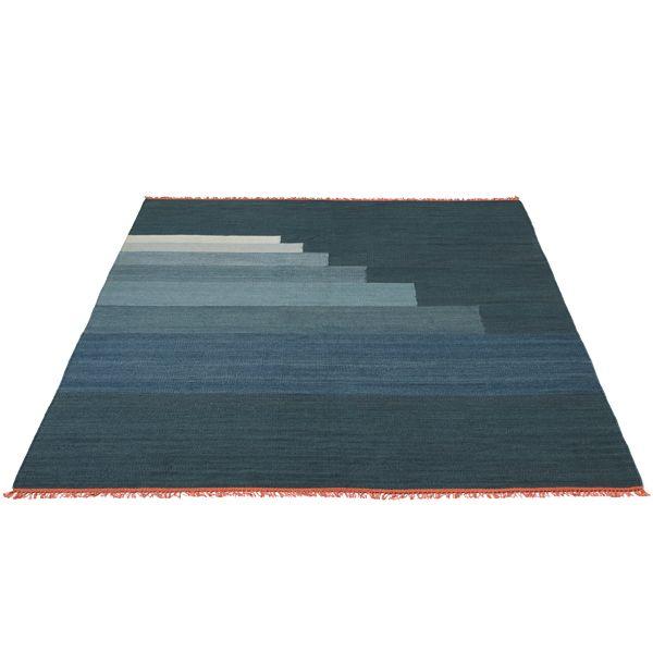 Another Rug, blue thunder, 200 x 300 cm