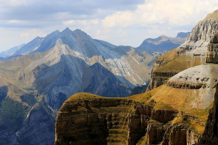 Part of the Ordesa Y Monte Perdido National Park, Ordesa Canyon is located deep within the Pyrenees