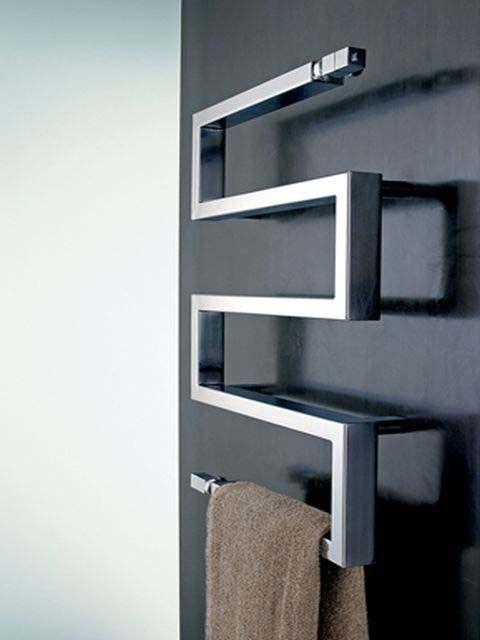 Serpentes ST radiator - designer radiators, stainless steel towel rail, radiators
