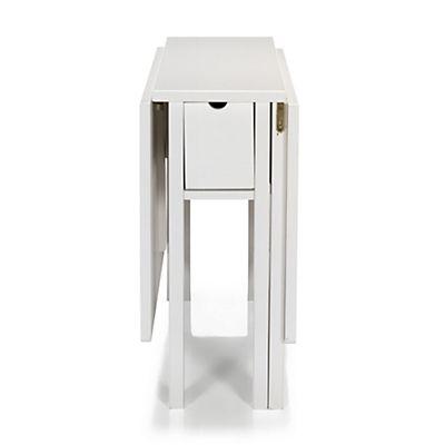 table extensible pliante l80cm l140cm 4 6 convives alina - Table Murale Rabattable Alinea