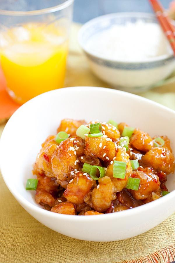 Chinese orange chicken recipes easy