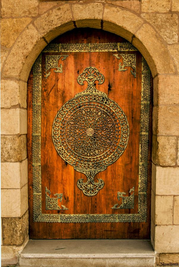 •♥•✿ڿڰۣ(̆̃̃•Aussiegirl #Old #Beautiful #Doors   Cairo, Egypt