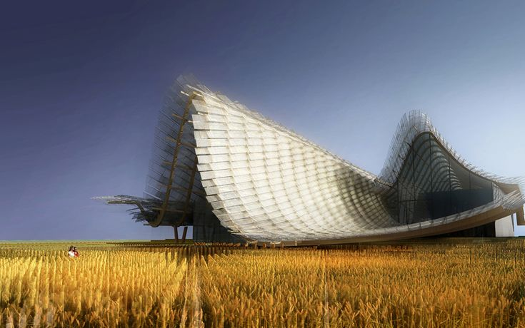 the china pavilion for expo milan 2015 by studio link-arc + tsinghua university