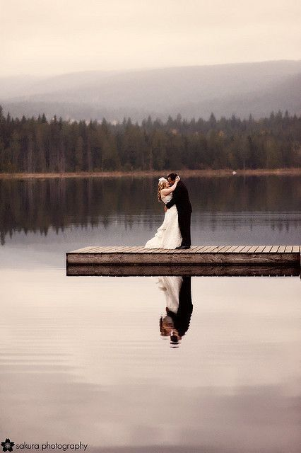 lake weddingbeautiful