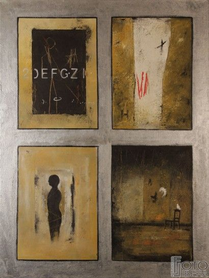 Marco Minozzi born in Rome Italy, his began academic studies at the the age of 14 years old, initially with figures and sketchs and proceding towards the oil on canvas technique