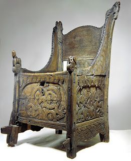 Box Chair Dated To The Early 13th Century From Blakar Farm