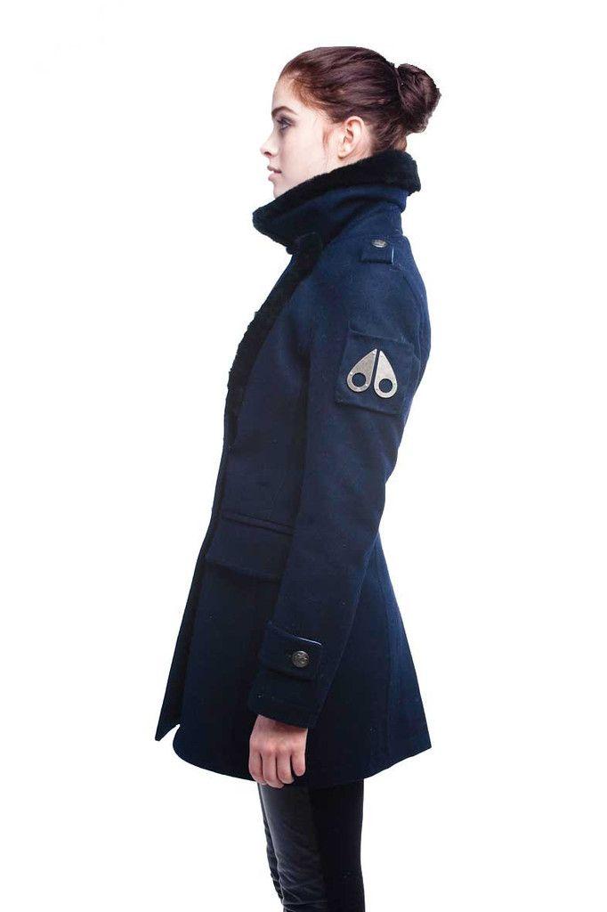 Moose Knuckles Canada Ladies Pea Coat Pea Coats Women