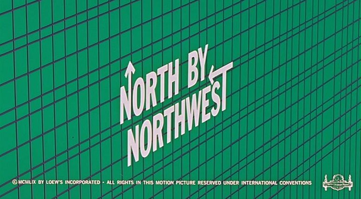 opening title sequence by graphic designer Saul Bass