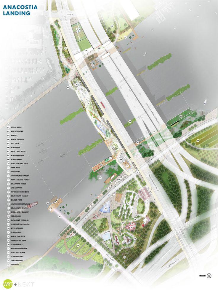 The 11th street bridge park design competition 11th for Landscape design competition