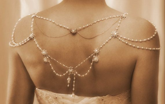 Necklace For The Shoulders1920'sThe Great by mylittlebride on Etsy