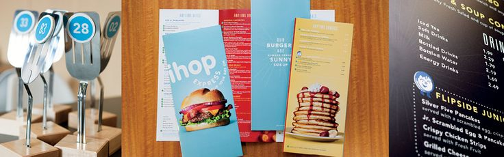 Ihop Express | Identity Branding A big improvement to the classic Ihop