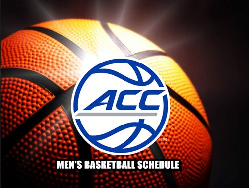 ACC Men's Basketball Schedule -