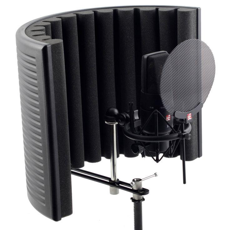 """SE X1 Studio Bundle. Bundle da Home Studio e Project Studio con Reflexion Filter X ed il microfono sE X1. Nel bundle, anche il fondamentale shockmount professionale identico a quello dell'sE 2200a II C, un pop filter metallico, un cavo per microfono professionale da tre metri ed una dettagliata documentazione in formato elettronico. Soluzione """"all […]"""