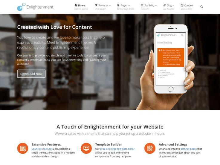 Best Wordpress Themes Images On   Blogging Wordpress