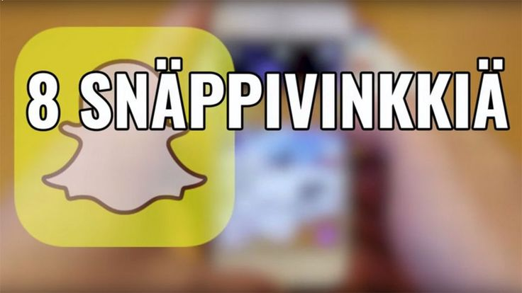 Facebook, Instagram ja Twitter alkavat olla jo wanhoja juttuja. Snapchat on nyt in.