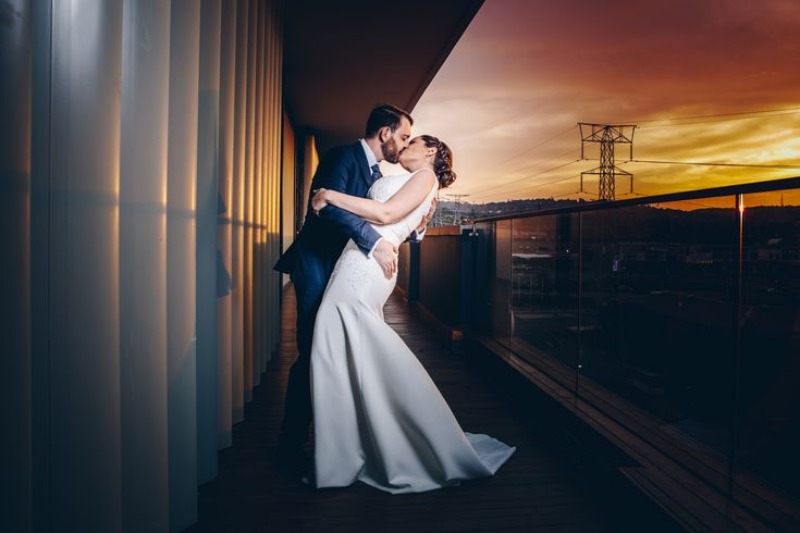 Hannes and Kylie's beautiful rooftop industrial-chic wedding, in Pretoria, South-Africa.  They opted for a non-traditional take on tying the knot and celebrated the night away with friends and bubbly.  #goingbreedt #weddingphotography #urbanwedding #industrialchicwedding #southafricawedding