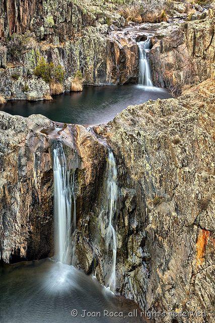 Cascadas del Aljibe. Sierra Norte de Guadalajara. by JoanRoca, via Flickr