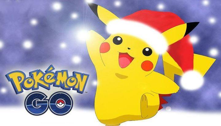 ¿Qué esperan para esta temporada navideña en el juego? Pokémon Pokémon GO Pokemon-Go PokemonGo #Pokemon #pokemon #pokemongo