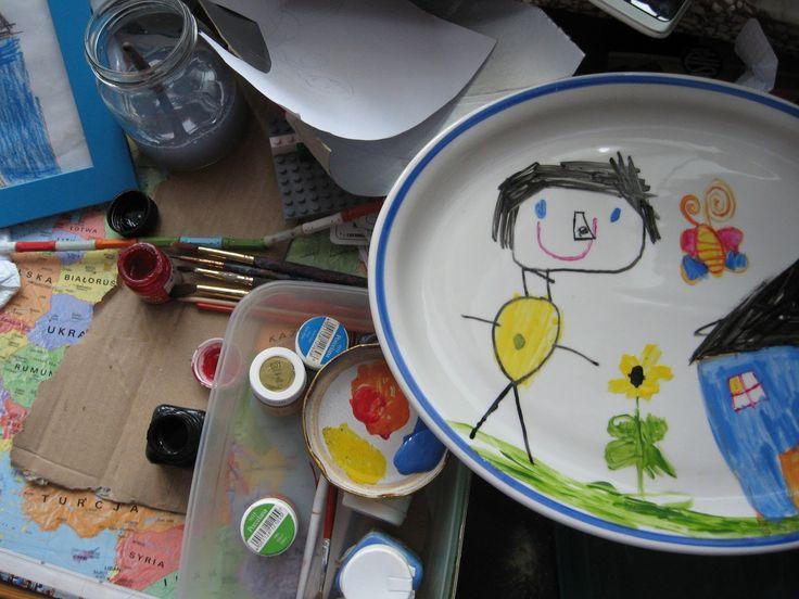 Deszczowy Dom: malowana ceramika