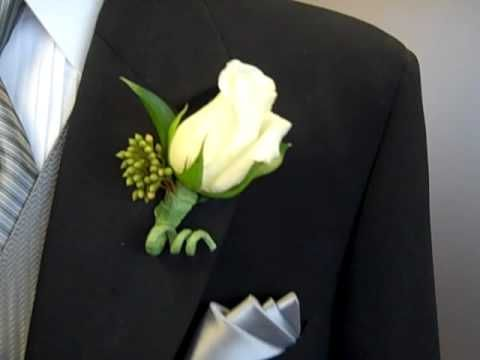 Proper Boutonniere Placement - YouTube In time for Prom and Wedding season