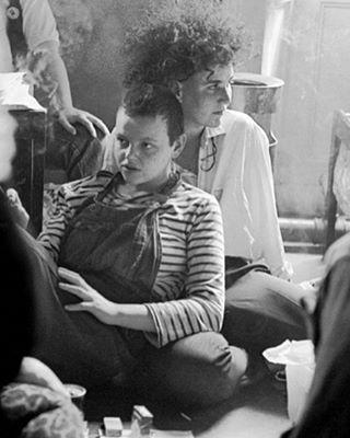 h-e-r-s-t-o-r-y:  ☄Dreamy☄Lesbian and Gay Pride London 1983. #lesbianculture #lesbianpride #gaypride #lezstyle #overalls #babes #1983