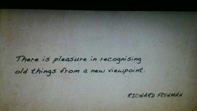 Richard Feynman quote