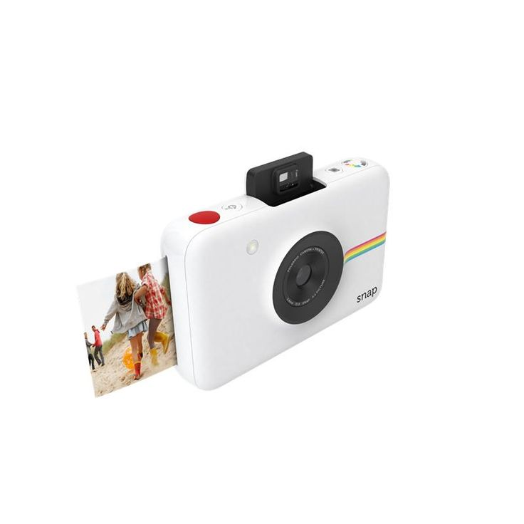 Polaroid Snap Instant Digital Camera with Intergrated Printer (White)