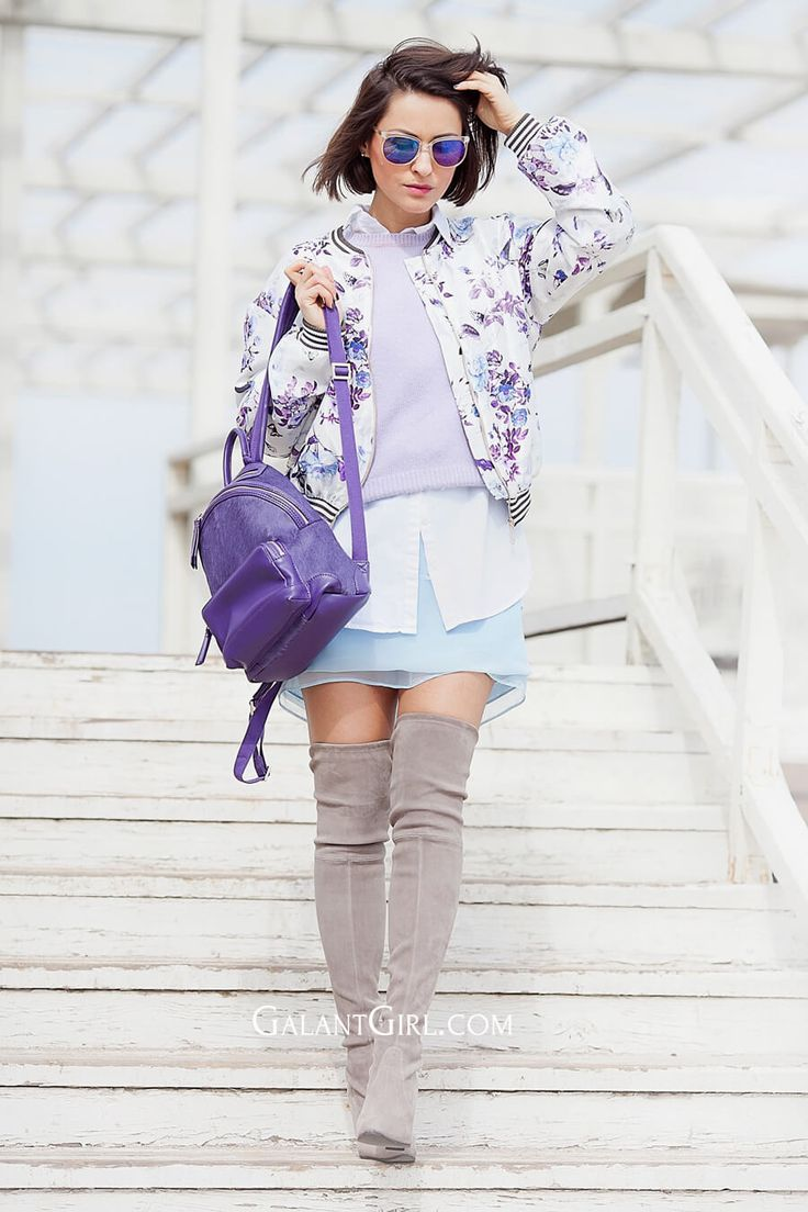 flower-printed-jacket-outfit-for-spring