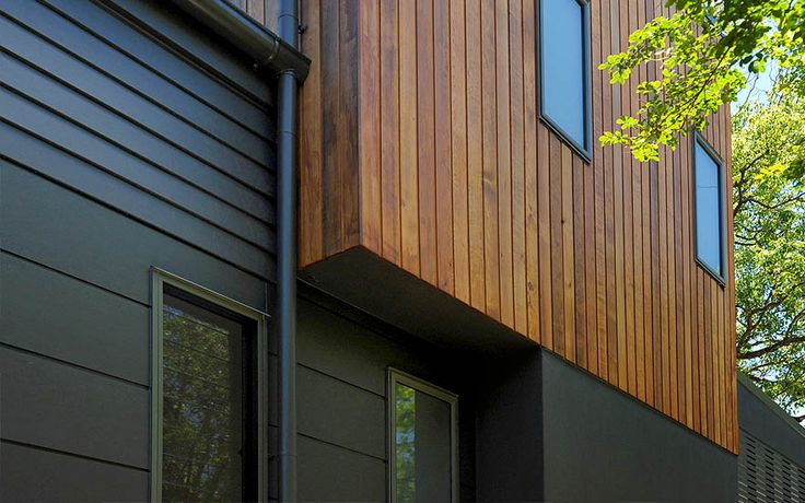 Combined dimensions weatherboard  Longman Terrace House | Scyon Wall Cladding…