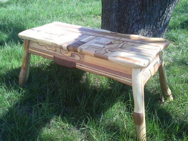 Bänke   Bank Echtholz Möbel Holz Recycling   Ein Designerstück Von  MichaMoebel Bei DaWanda