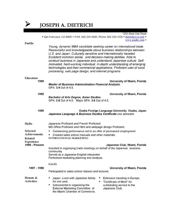 Basic Resume Templates Minimalist Resume Templates Downloadable Resume Template Sample Resume Templates Minimalist Resume Template
