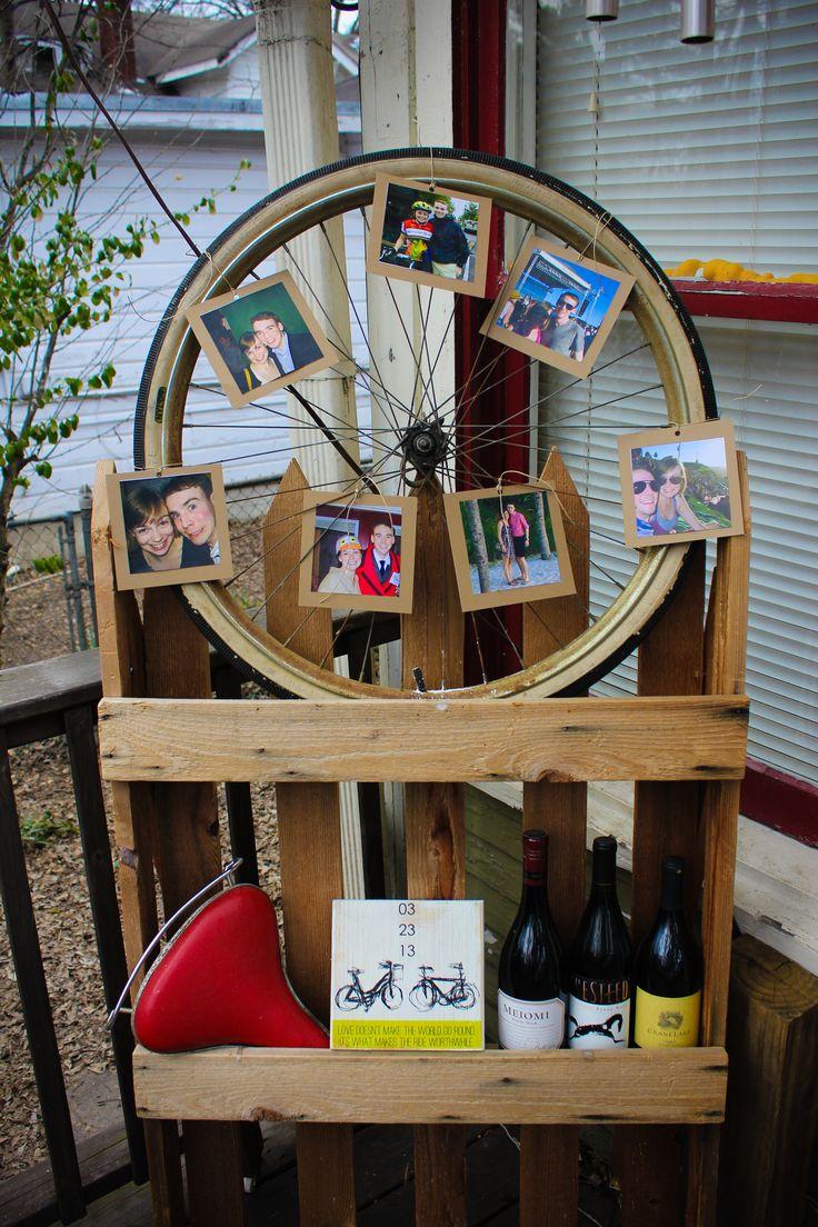 1000 images about engagement party bicycle theme on - Deco tour de france ...
