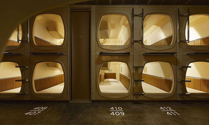 V Tokiu přestavěli starý hotel nafinskou saunu subytováním vkapslích