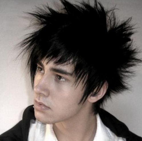 how to style medium hair 412 best cool funky haircuts images on funky 1288 | 48462281a1288e405b9750ca985682d7 short emo hairstyles asian men hairstyles