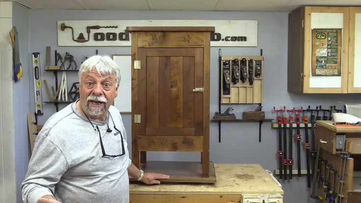 Make an Antique Style Wood Ice Box / Standing Wood Cabinet.