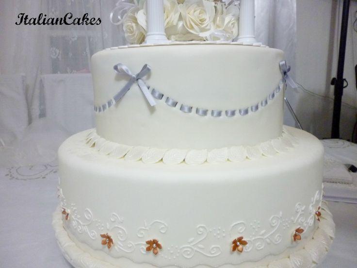 Wedding cake by ItalianCakes