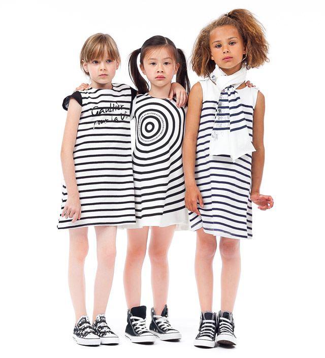 Junior Gaultier Spring Kids Fashion From Paris Summer - Pret a porter enfant