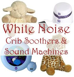 Simple, effective way to help your baby sleep: white noise from a crib soother or sound machine