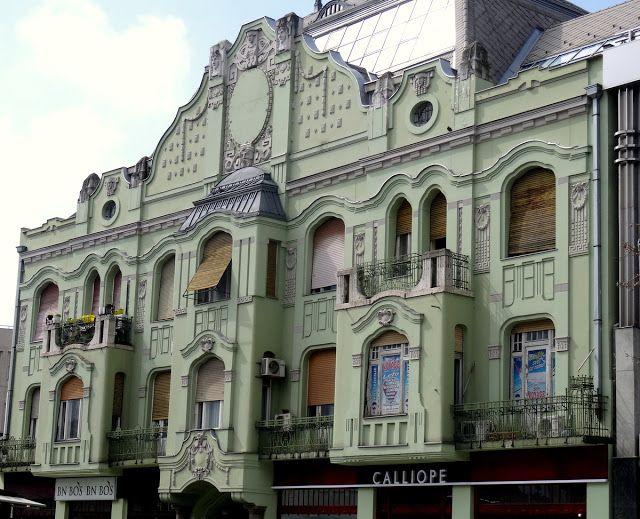 Beautiful Restored Building in Novi Sad, Serbia
