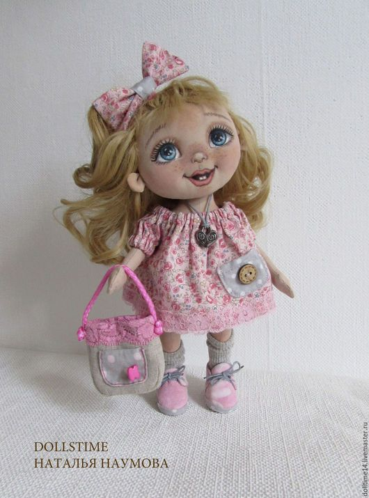Toy Characters handmade. Livemaster - handmade. Buy textile doll baby Kitty.Doll textile, gift baby, toy, accessories