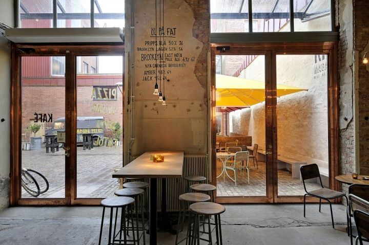 Kafe Magasinet by Robach Arkitekturn, Göteborg – Sweden » Retail Design Blog
