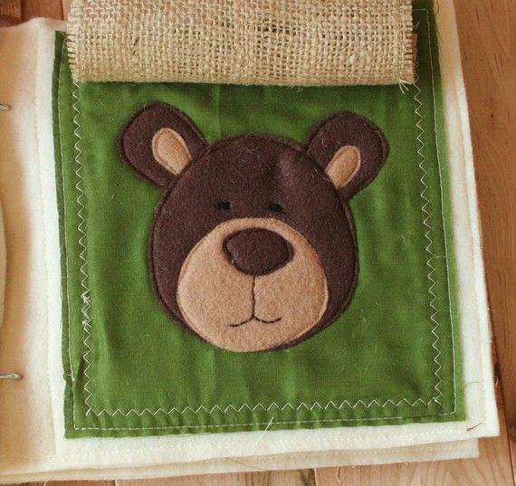 PATTERN for At The Zoo plush/quiet book digital by shelleywallace
