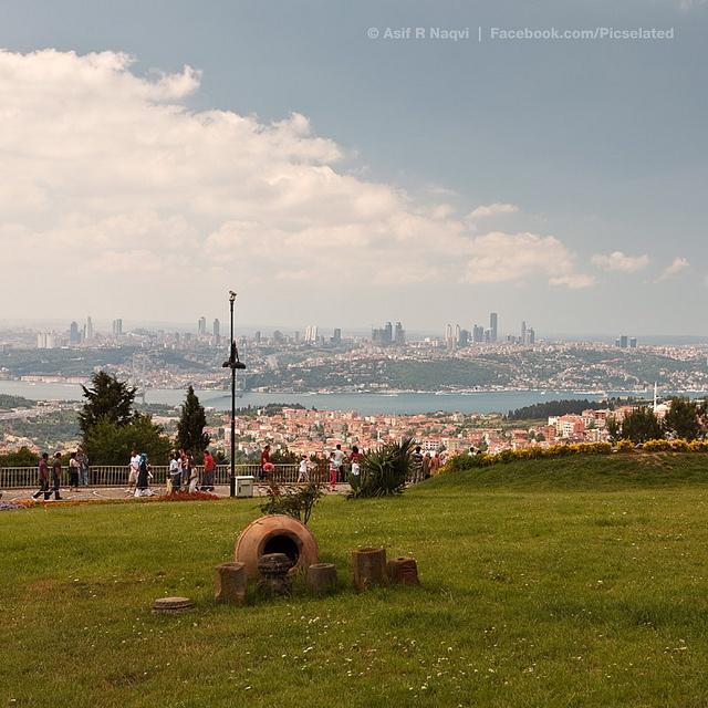 Çamlıca Hill, Istanbul, Turkey.