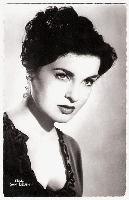 """""""Silvana Pampanini (1925) is an Italian actress who knew enormous popularity in the 1950s and 1960s. In the early 1950s, before Sophia Loren and Gina Lollobrigida reached stardom, Pampanini was one of the most well-known symbols of Italian beauty."""""""
