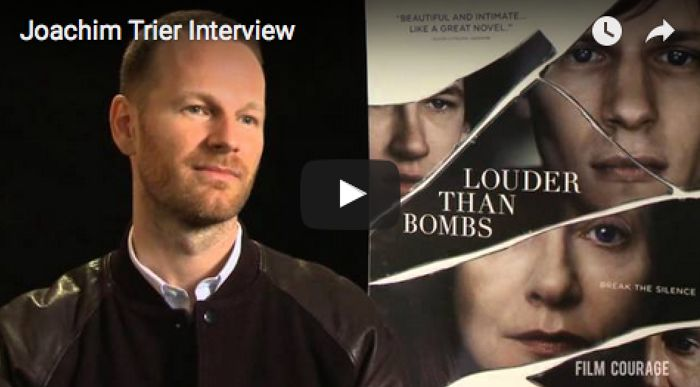 #Norwegian #Filmmaker #JoachimTrier on making his latest #movie #LouderThanBombs and a #writer / #director 's take based on observation (from a #DonDelillo quote)...... LOUDER THAN BOMBS #intheaters April 8th, 2016 http://louderthanbombs.film/see-the-film    #mustsee #moviesworthwatching #filmmaking #independentfilm #cinema #movies #movies2016 #filmandtelevision