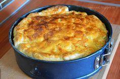 Мастерская на кухне: Суперлегкий сырный пирог к утреннему кофе!